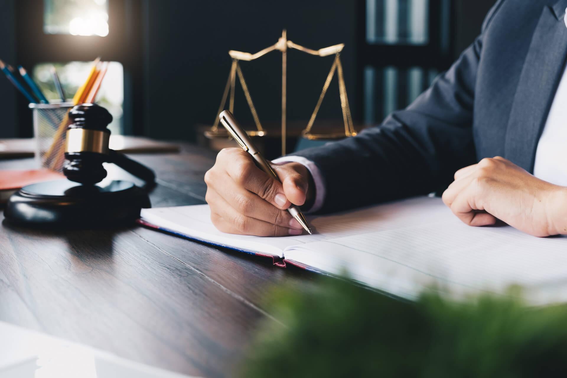 Unterschrift Jurist